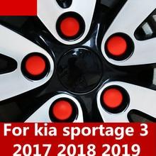 Modified wheel hub screw protection cap dustproof rust cap screw silicone exterior auto parts For kia sportage 3 2017 2018 2019