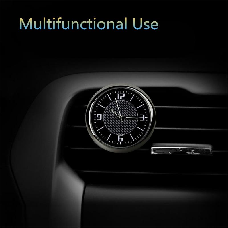 Часы в машине для BMW E 30 34 36 38 39 46 53 60 82 83 87 90 92 F 11 20 с логотипом мини круглые черные указки светящиеся автомобильные часы saat