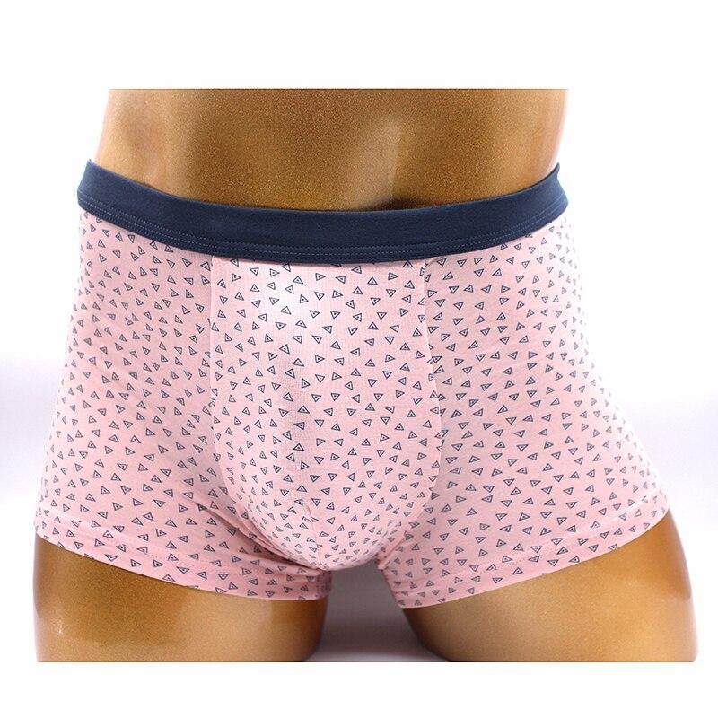 Roupa Interior dos homens Boxers Rosa Imprime Presente dos homens do roupa interior dos homens Pugilistas do Roupa Interior Dos Homens Boxer Shorts