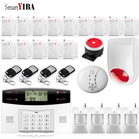 SmartYIBA 99-sistema de alarma GSM para seguridad de la casa, alarma de...