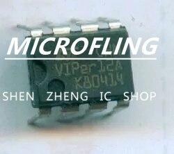 20 pçs/lote VIPER12A VIPER 12A DIP-8 Eletromagnética forno interruptor de alimentação chip IC