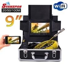 SYANSPAN-caméra vidéo dinspection de tuyaux   Appareil photo vidéo sans fil WiFi 9