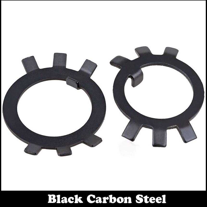 M22 M24 M25 M27 M30 M33 DIN70952 GB858 de acero al carbono negro cerradura Junta espaciador arandela de seguridad para tuerca redonda ranurada