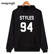 One Direction Harry Styles 94 Hoodies Sweatshirt Women/Men Streetwear Casual Jacket Coat Autumn Winter Fleece Hoodie Sweatshirts