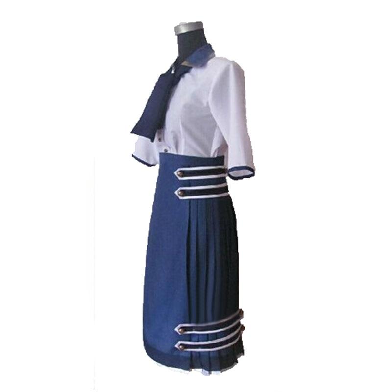 Bioshock infinito 3 elizabeth daisy fitzroy anime vestido cosplay uniforme traje feito sob medida