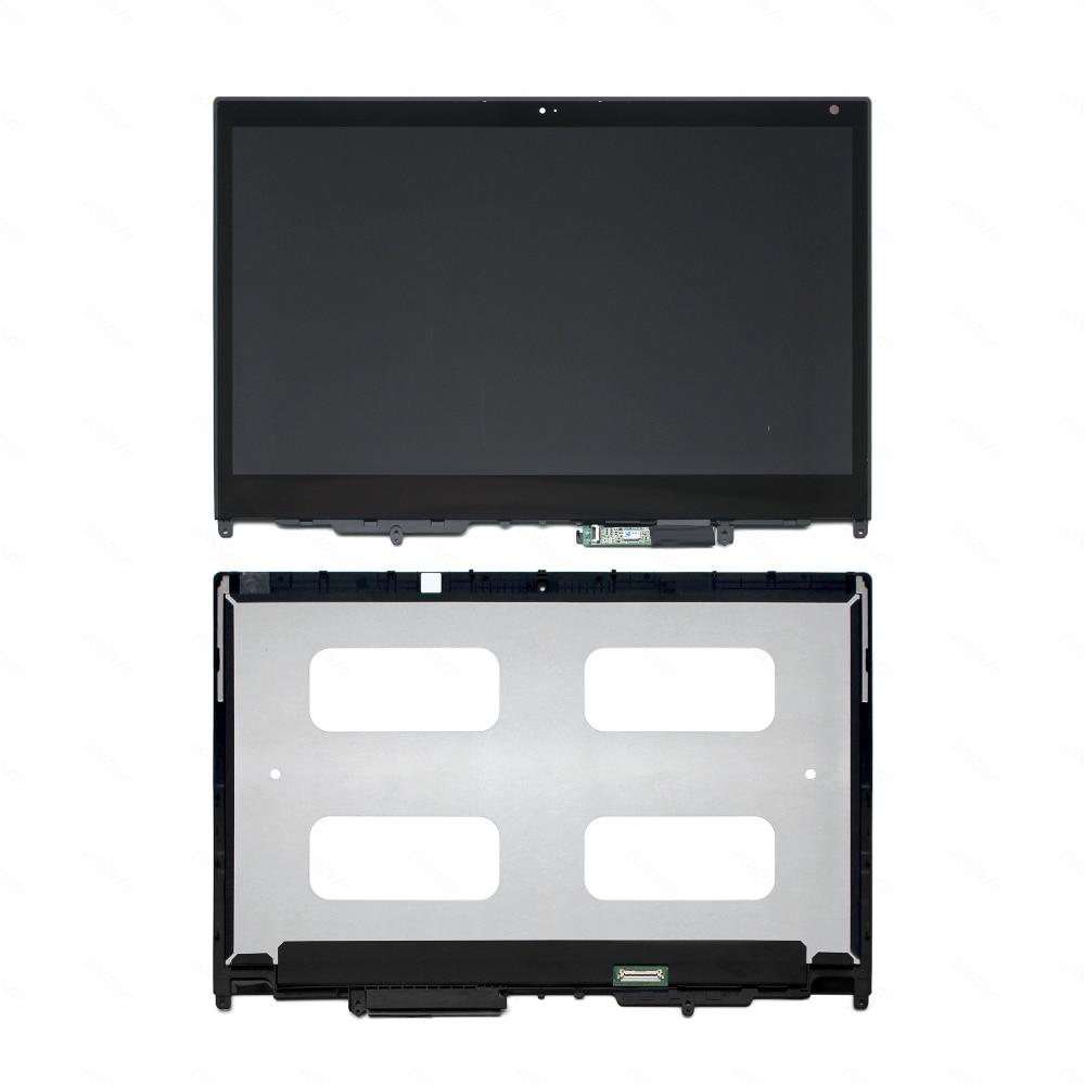 Pantalla táctil de cristal LCD de 13,3 pulgadas para Lenovo Thinkpad Yoga 370 FHD + bisel 01LW129 01EN318 01HY321 01HY323