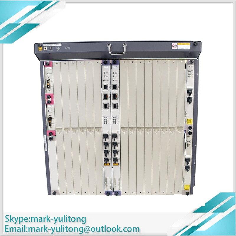 MA5680T GPON OLT EPON Terminal de Linha Óptica 2*2 SCUN * 2 GICF * PRTE GPBD Suporta GPFD GPBH EPFD EPSD Cartão de Serviço