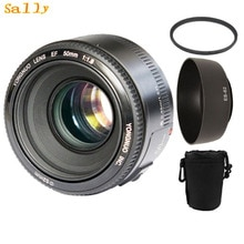 YONGNUO YN50mm f1.8 AF MF Objektiv YN 50mm Auto Fokus objektiv für Canon EOS DSLR Kameras mit 3 geschenke