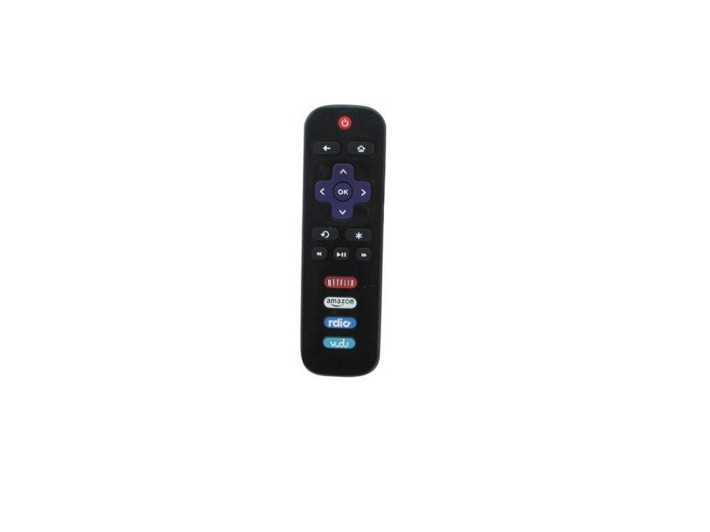Pilot zdalnego sterowania dla TCL 28S3750 55P607 65US5800 32S3800 49S303 28S305 48FS4610 40FS3800 40FS3750 48FS3750 LED Roku inteligentny HDTV TV