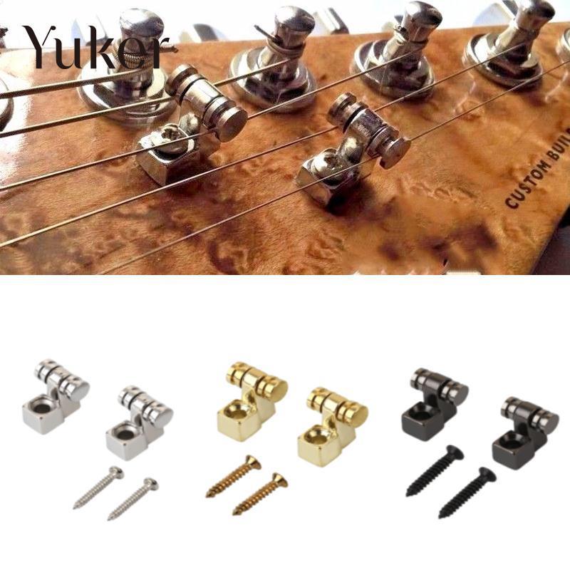 Электрическая гитара Yuker, 2 шт., роликовая нить, крепежный кронштейн для дерева, Электрические запасные части для гитары, аксессуары