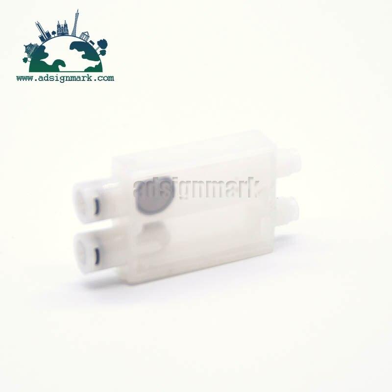 Amortecedor de Tinta Da Cabeça De Impressão para Epson B500 DX7 B300 B510 B310 Titan-jet Xenons com M8 Porcas de Cobre Conector impressora solvente Chinês