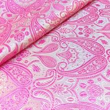 Tissu Satin Vintage 1 mètre   Kimono Hanfu Brocade chinois, Jacquard, Damask, tissu de bricolage