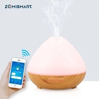 Diffuseur dhumidification  commande via application Smart Life  Wifi  commande vocale  pour maison connectee  Alexa  Echo  Google Home