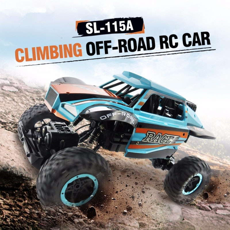 SL-115A 4WD Off-Road Racing RC Cars 2.4Ghz Radio Vehicle Electric Rock Crawler Car Remote Control Climbing off load RC Car Gifts