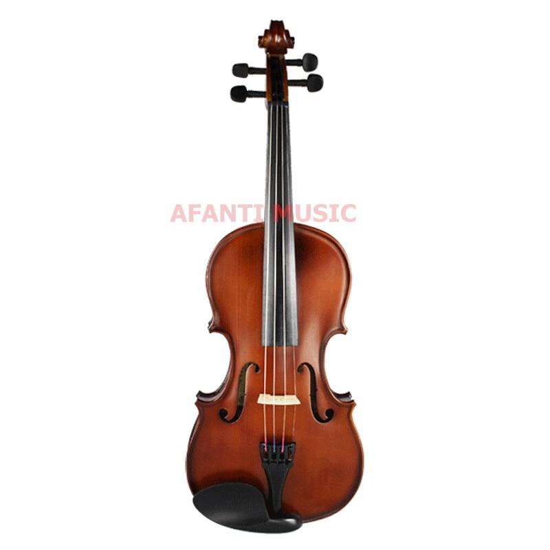 1/2 Violin / Afanti Music Ebony Fingerboard 1/2 Violin (AVL-358)