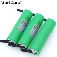 1-20PCS Varicore original 18650 2500mAh Batterie INR1865025R 3,6 V Entladung 20A Gewidmet Batterie Power + DIY nickel