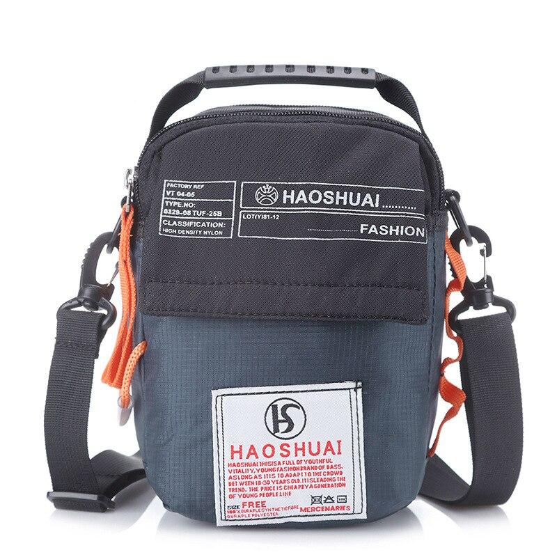 Bolso bandolera de nailon de alta calidad, bolso de cintura, riñonera, informal, a la moda, para hombre, bolso con asa de calidad