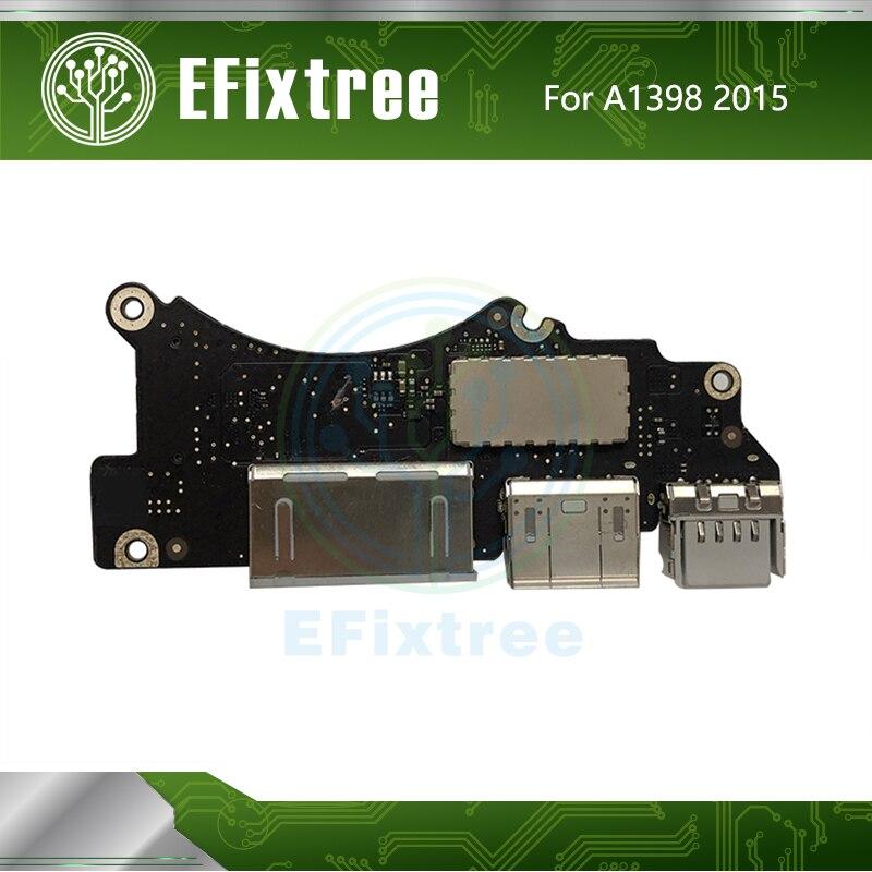 "820-5482-A I/O USB HDMI SD Kartenleser Board Für MacBook Pro Retina 15 ""A1398 USB IO Bord mid 2015 Jahr EMC 2910"