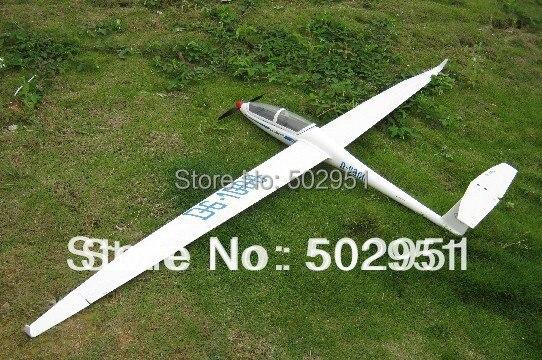 FLYFLY DG1000 KIT RC versión eléctrica y parapente modelo planeador, DG-1000, DG 1000 modelo de radiocontrol de fibra de vidrio