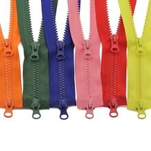 5 #80/90/100/120/150 Cm Dubbele Sliders Plastic Hars Kleurrijke Rits Voor Kleding kledingstuk