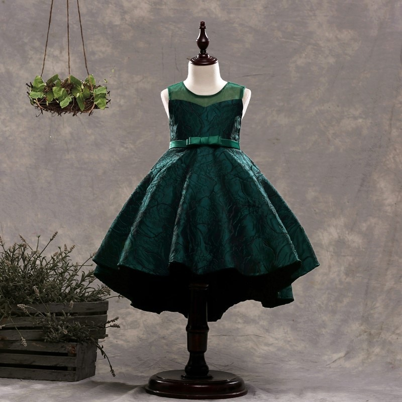 2019 New girls princess dresses sleeveless girls dresses children performance dress children clothing A2199