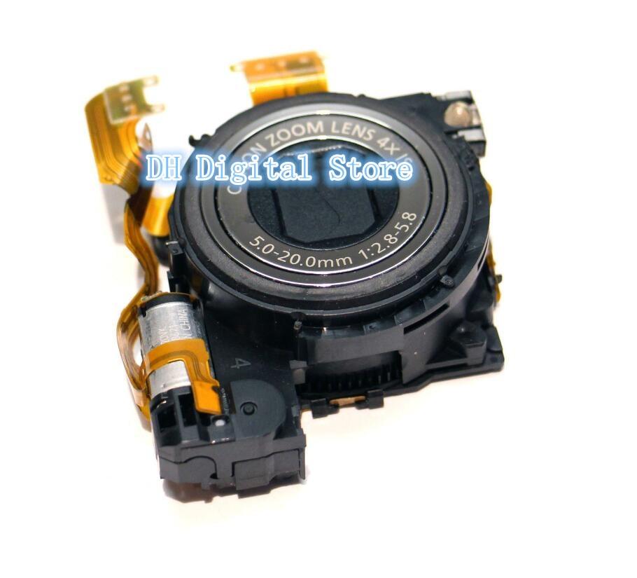 Nouveau Zoom pour CANON pour PowerShot pour IXUS870 SD880 pièce de réparation pour appareil photo numérique argent + CCD