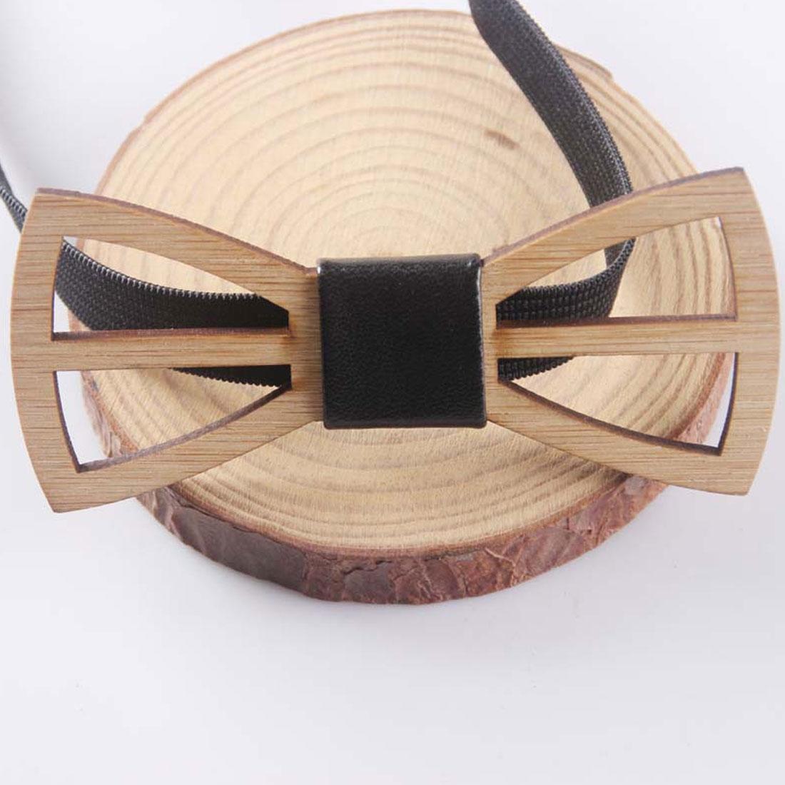 Нежный уникальный деревянный галстук-бабочка для мужчин гравата геометрические ножницы лазерный резной ювелирный аксессуар бабочка сваде...