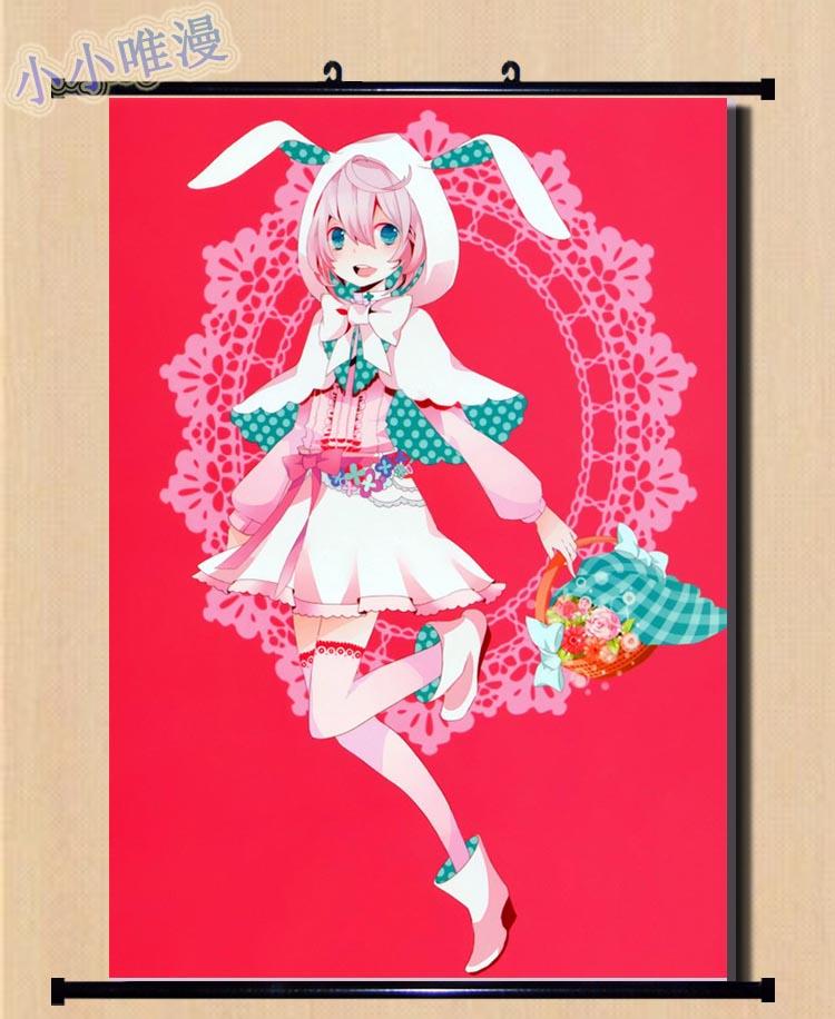 Anime japonés han-gyaku-sei Million Arthur Vagabond & Nuckelavee & Titania & Brigitte decoración del hogar póster enrollable de pared fotos