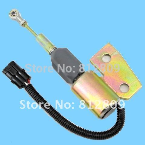 Shutoff solenoid ,Fuel shut down solenoid 4BT 5.9L 3991168 24V SA-4941-24