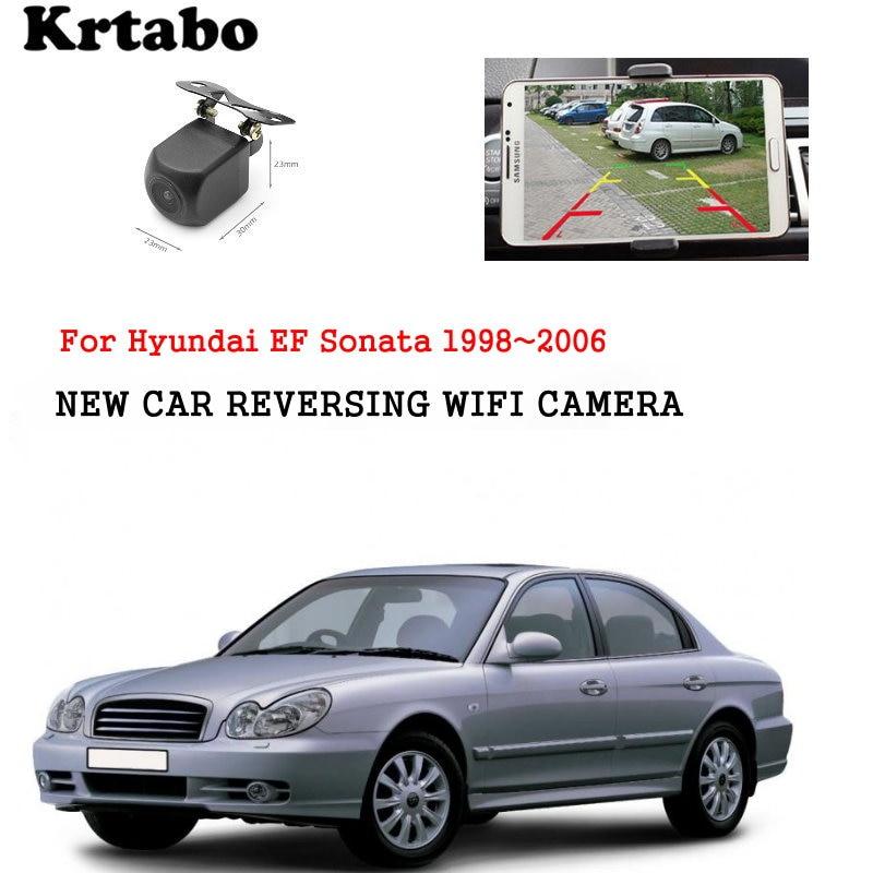 Car wireless rear camera For Hyundai EF Sonata 1998~2006 car Night Vision HD camera CCD night vision waterproof high qualit