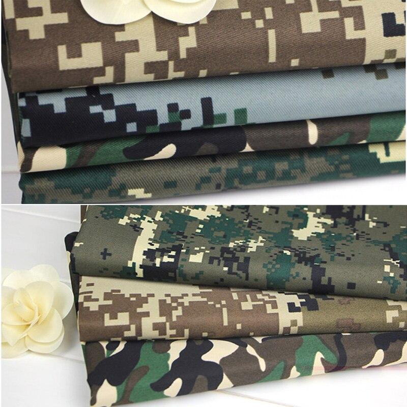 Военные тренировки в области пустыни, лесная хлопковая ткань камуфляжной расцветки, одежда ручной работы R210