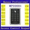 E0001 clavier de contrôle d'accès des portes | Clavier de contrôle d'accès sans contact RFID lecteur de carte d'identité étanche à la pluie pour l'extérieur en promotion