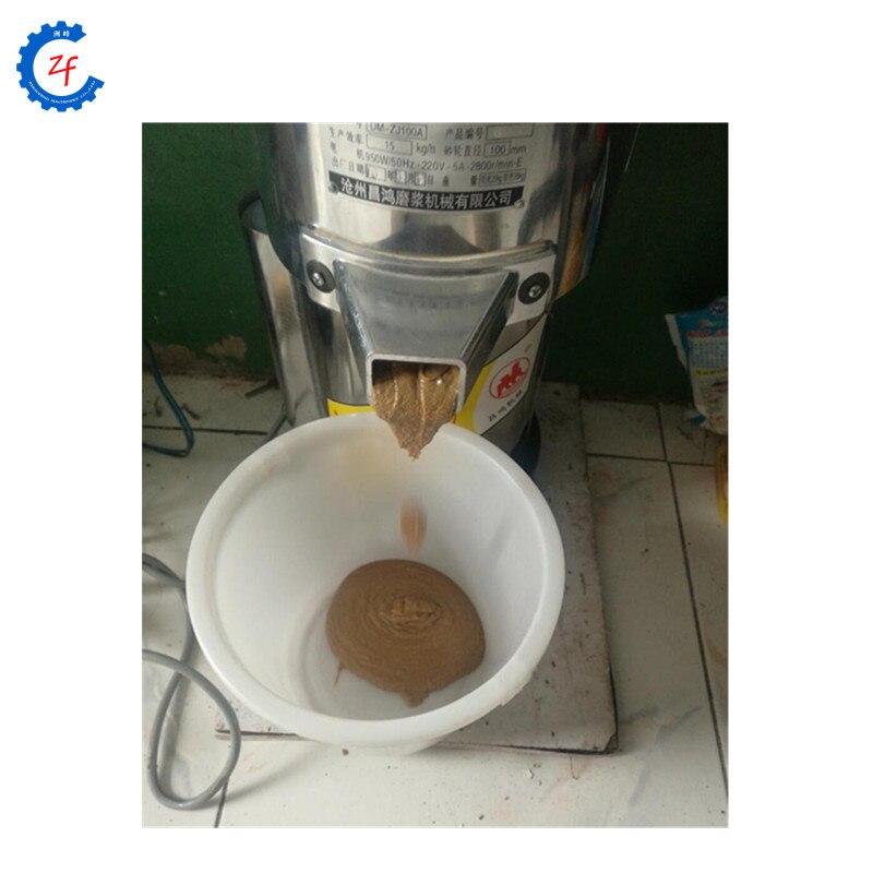 Máquina casera para hacer mantequilla de cacahuete, máquina de molienda de pasta de sésamo