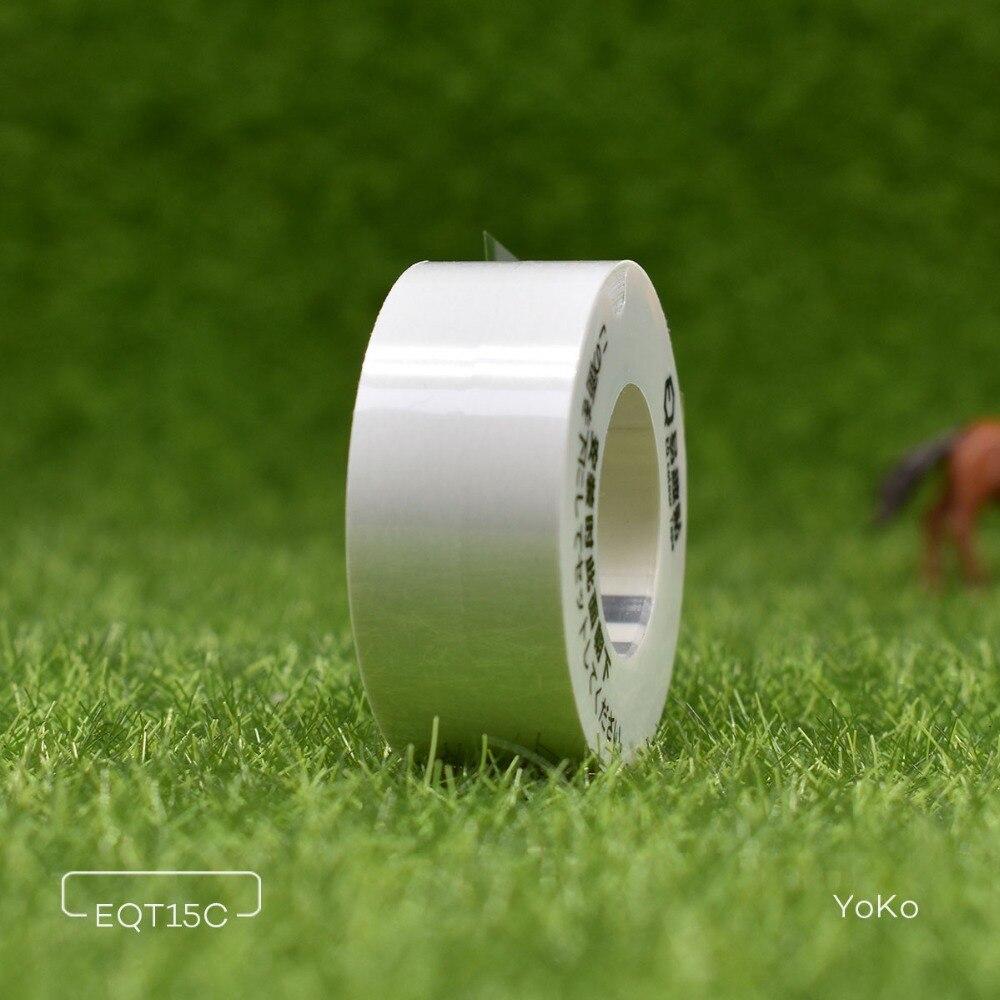 Cinta Washi de Color claro para kingjimmy LR5C MP20 LR-RK1C etiqueta adhesiva Mini cinta Linda 15mm * 4m para impresora de etiquetas TEPRA Lite