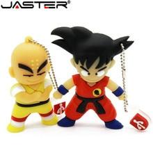 JASTER Goku Kuririn cadeaux lecteur Flash 4 GB 8 GB 16 GB 32 GB Dragon Ball Usb 2.0 clé USB clé Usb créative en gros