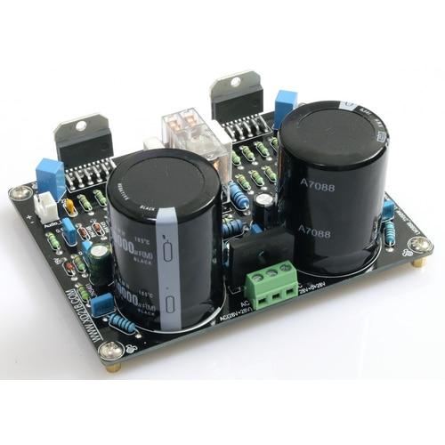Placa amplificadora LM3886 2,0 canales 68W DC Servo corriente dinámica de retroalimentación
