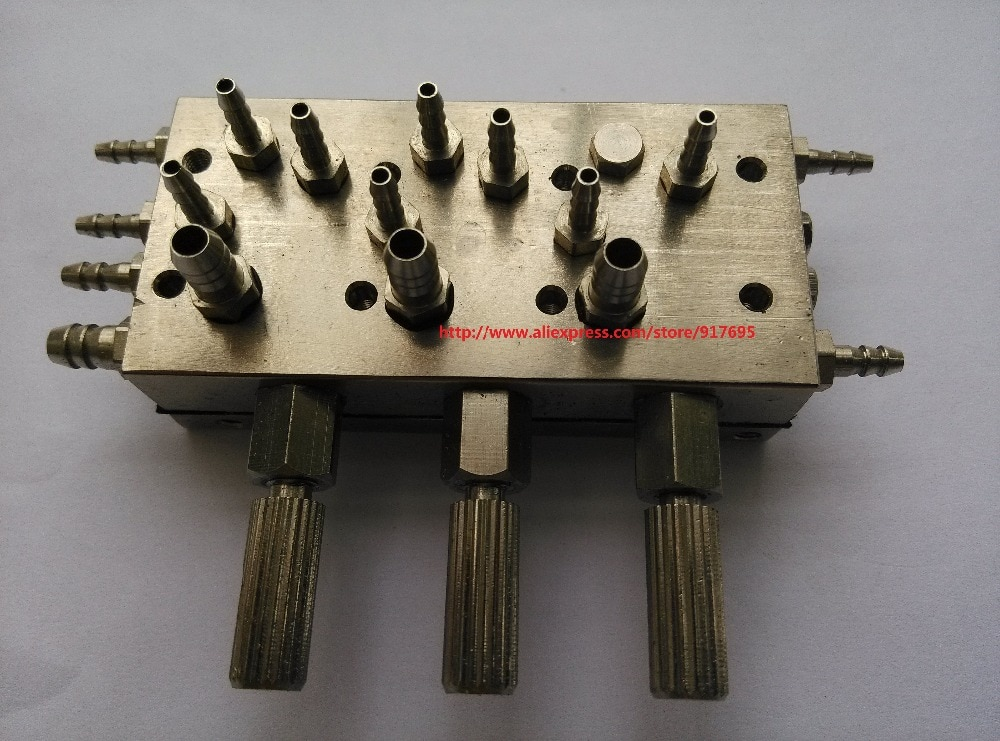 cadeiras odontologicas triplo valvula de diafragma triplo interruptor de controle