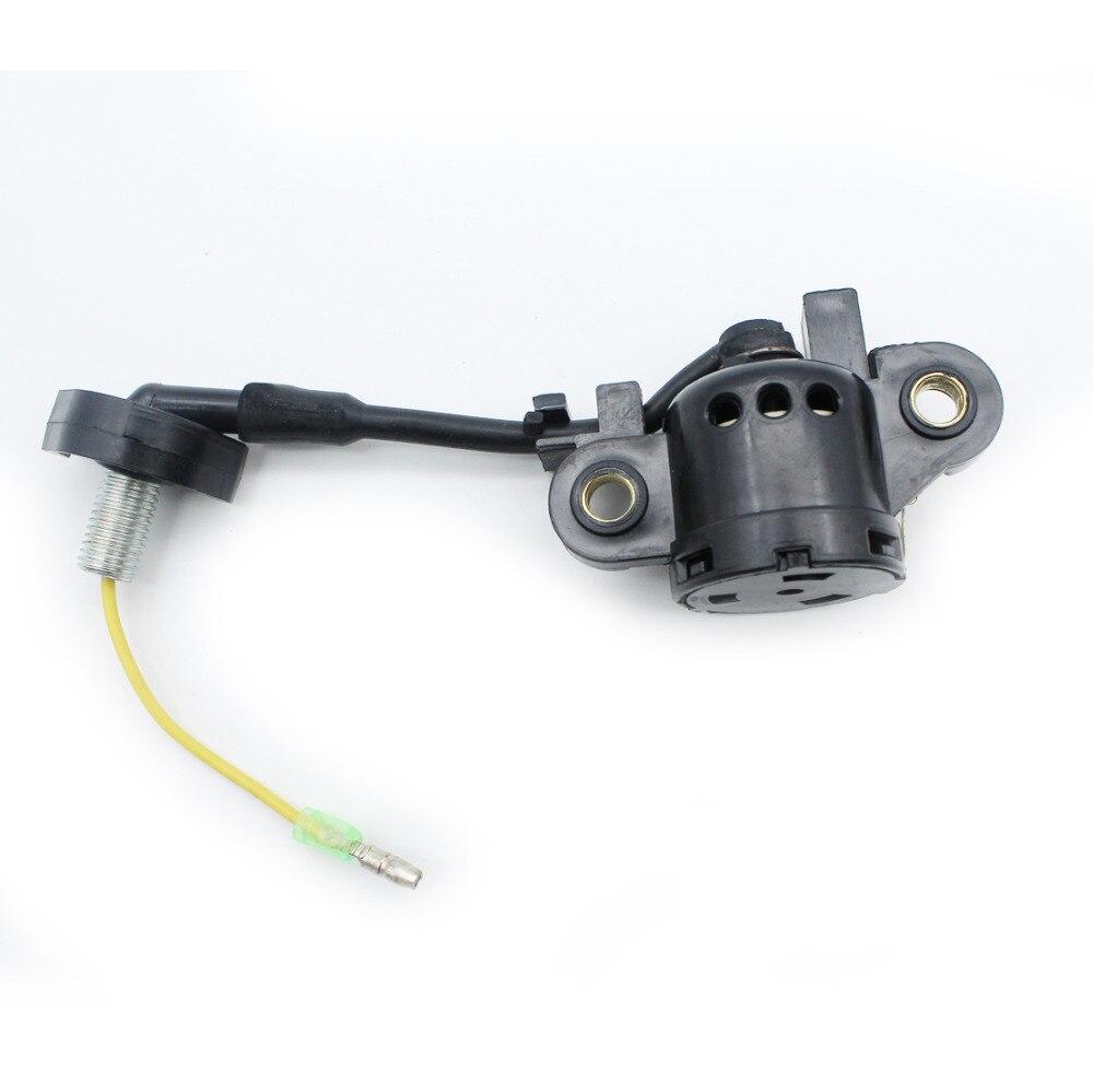 Conjunto do interruptor do sensor do nível de óleo para honda gx340 gx390 gx240 8hp 9hp 11hp 13hp motor a gás gerador bomba água