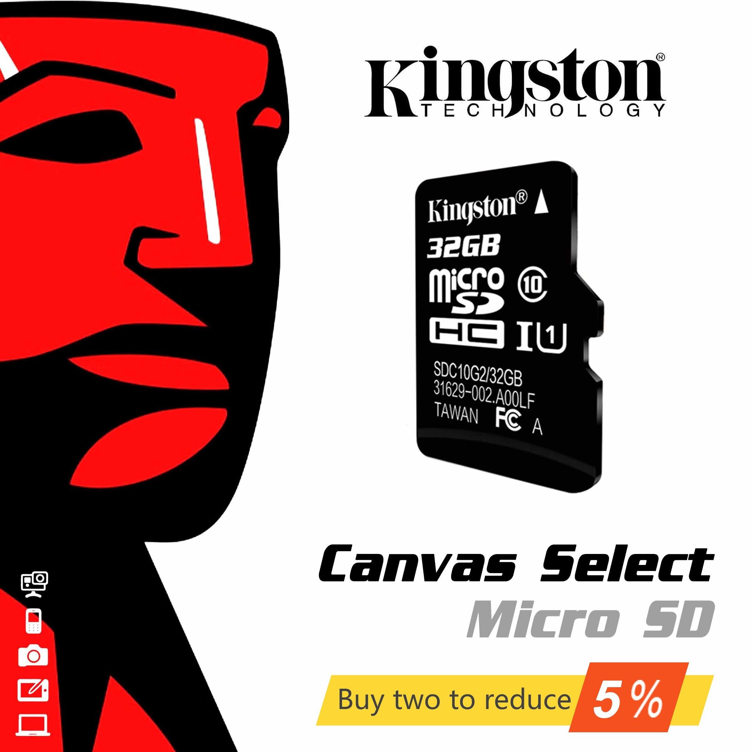 Original de alta velocidad SDHC Kingston tarjeta SD de 16gb 32gb 64gb 128gb 256 GB tarjeta de memoria Micro SD Clase 10 Mini TFT 16 32 64 128 de 256 GB