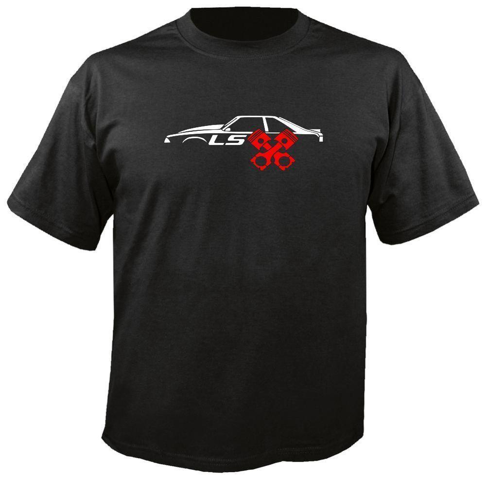 Женская футболка lsx mustang, футболка с рисунком лисы, хэтчбек, двигатель lx, модель 5,3, 2019