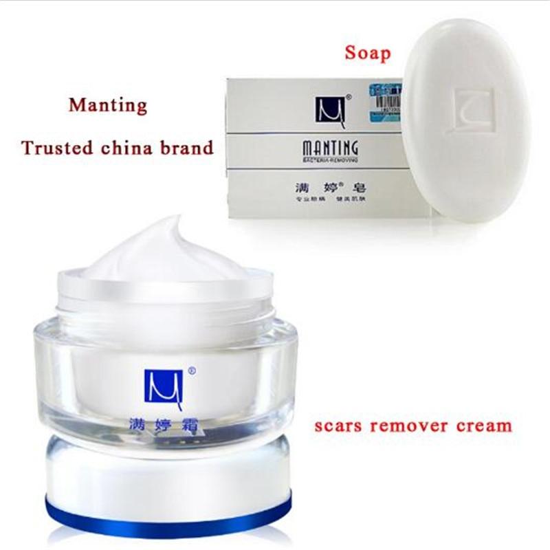 Manting visage hydratant acné cicatrices enlever traitement blanchissant crème et manting acariens enlèvement savon corps nutritif enlever les démangeaisons