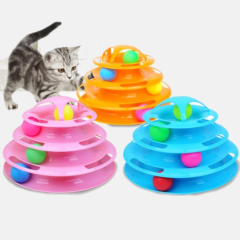 Juguetes para mascotas, pista de gato, plato de bola, disco divertido, placa de entretenimiento interactiva, juego de juguete, disco de juguete, suministros para gatos