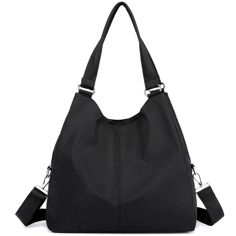 NEW-Ladies Handbag Casual Large Shoulder Bag Nylon Tote Mummy Shopping Bag Waterproof