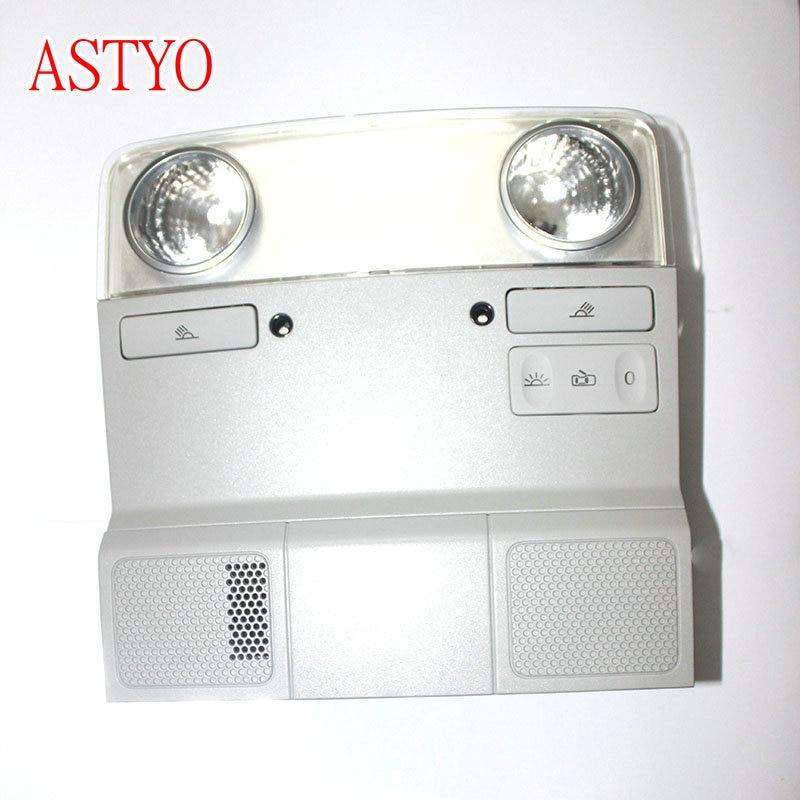 ASTYO Car Reading Lamp with Light Bulb Dome Light Interior Lights For VW Golf 6 MK6 Jetta 5 MK5 Passat B6 Tiguan