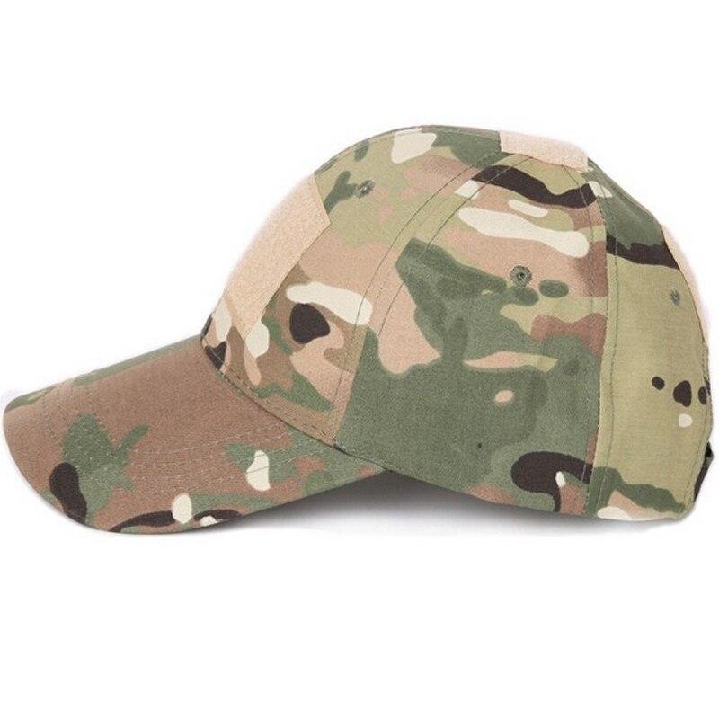 Gorra táctica de camuflaje militar del ejército Airsoft Paintball gorra de béisbol de caza al aire libre hombres Multicam Soldier Combat Sun Hat