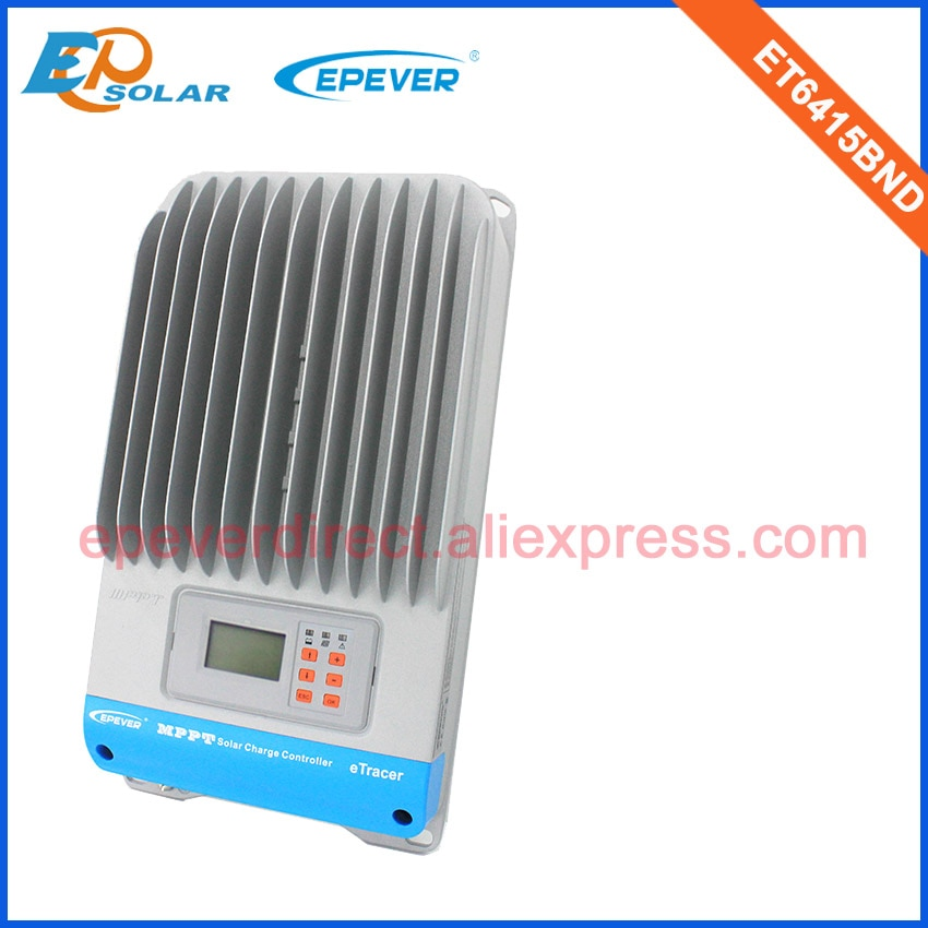 60A MPPT Solar Controller ET6415BND 12V 800W Max 48V 3200W solar panels cells PV system EPEVER/EPsolar Tracer 60amps