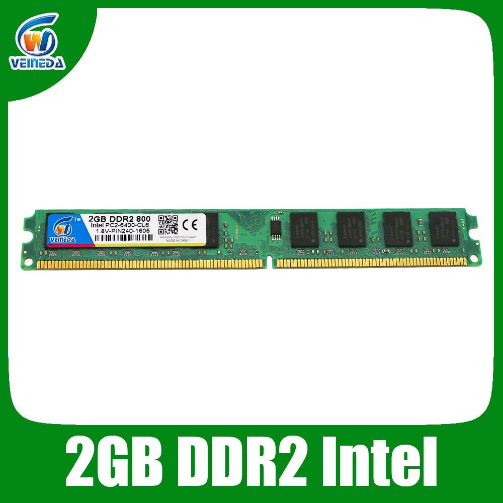 Оперативная память ddr2 4 ГБ 800 pc2 6400 Совместимость Гб 667 PC5300 240Pin 1 8 V для Intel AMD