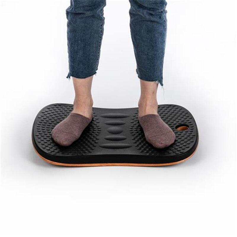 Anti-fatigue Comfort Balance Board Comfort Floor Mat Black Home Body balance practice Balance Board Fitness Equipment