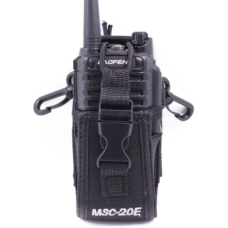 MSC-20E большая нейлоновая сумка для переноски BaoFeng UV-5R UV-82 UV-XR Plus YAESU TYT WOUXUN Mototrola Walkie Talkie Radio