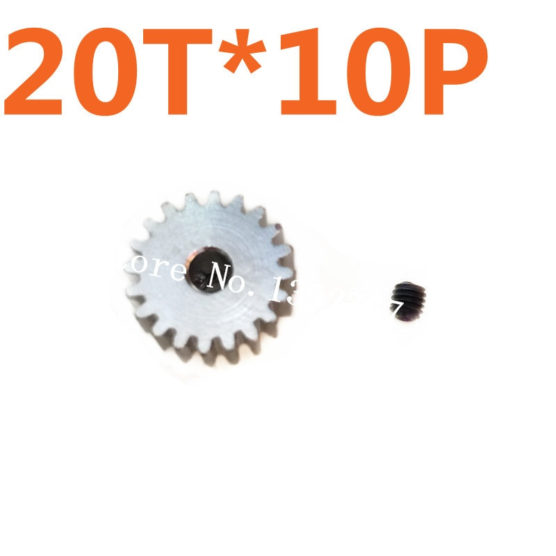Venta al por mayor 10 piezas HSP 1/10 Motor Gear 20 T 48 P espaà a piñón de Metal para AI TRAXXAS HPI HSP RC Coche
